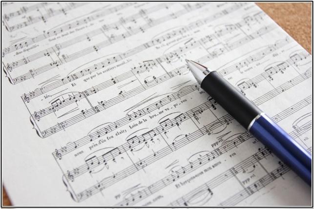 ピアノの楽譜画像