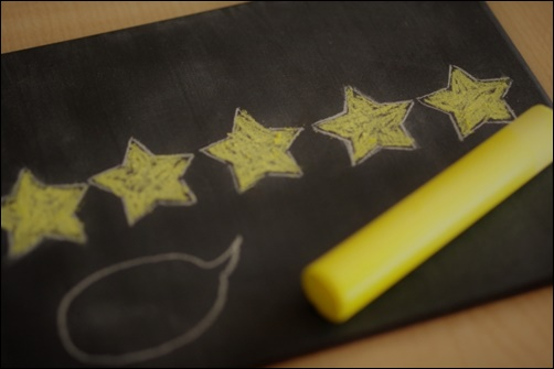 星5の評価の画像