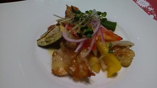 サンマルク船橋店の誕生日コース料理の画像2