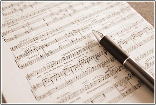 楽譜の画像