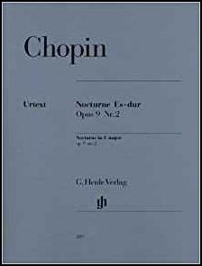 ショパンOp.9-2の楽譜画像