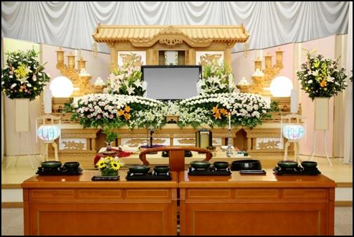 お葬式の画像