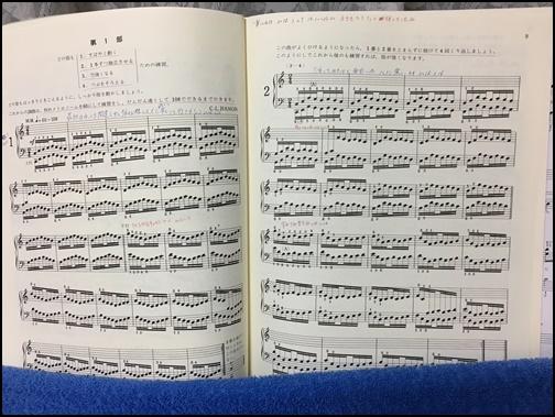 ハノンの楽譜