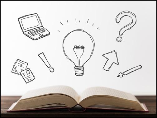本とアイデアの画像