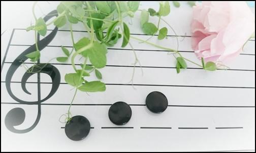 ト音記号の楽譜の画像