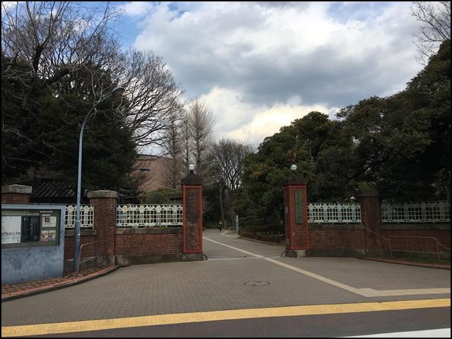 2019年3月13日 東京芸術大学の入り口画像