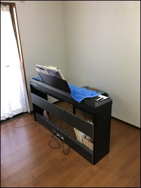 風水部屋3、電子ピアノの画像