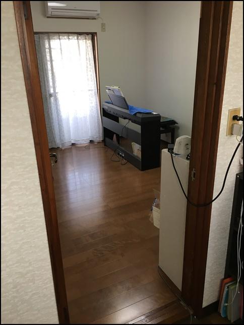 風水部屋1、ドアから中を見た画像
