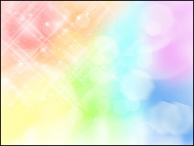虹の光の画像
